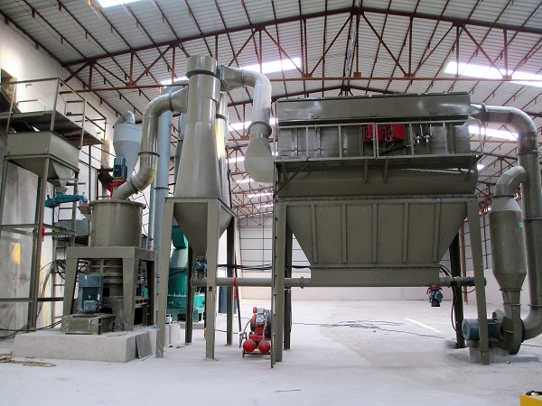 Barite grinding mill in Iran