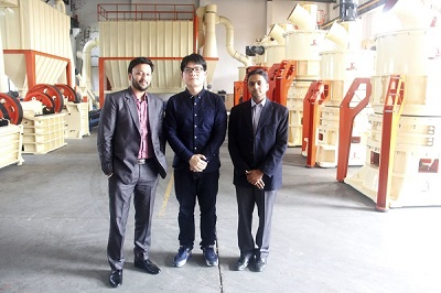 Indian Customers Visit Clirik for Micro Powder Grinding Mill