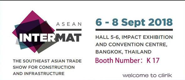 Intermat Asean 2018 in Thailand