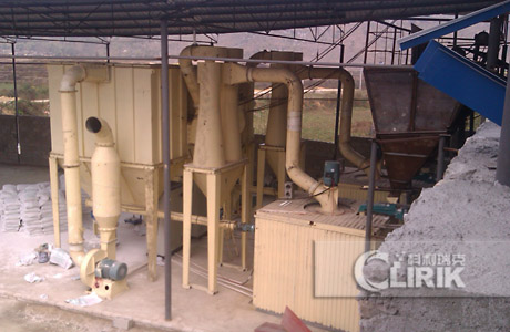 micro powder production line