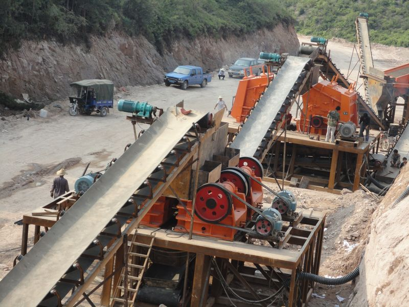 50-300t/h Stone Crushing Plant